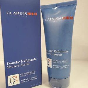 Clarins Men Exfoliating Shower Scrub
